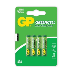 GP Bateria GreenCell R3 AAA 1.5V 4szt.