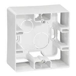 Legrand NILOE Puszka natynkowa pojedyncza biała 664798