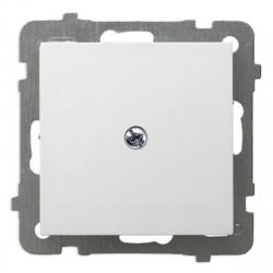 OSPEL AS Zaślepka modułowa do ramek biała Z-1G/00