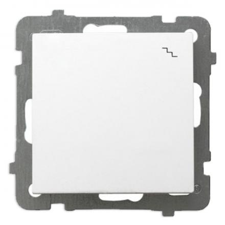 OSPEL AS Łącznik schodowy pojedynczy biały ŁP-3G/m/00