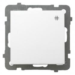 OSPEL AS Łącznik krzyżowy pojedynczy do ramki biały ŁP-4G/m/00