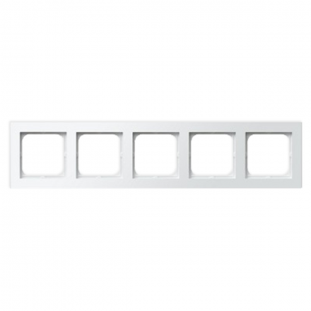 OSPEL SONATA Ramka pięciokrotna x5 biała R-5R/00