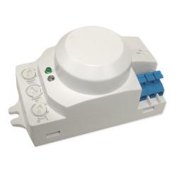 Brolux Czujnik ruchu sensor mikrofalowy montażowy 360° 12V