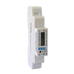 XBS Licznik energii elektrycznej na szynę cyfrowy 1F 5(45)A MID-MN-1D
