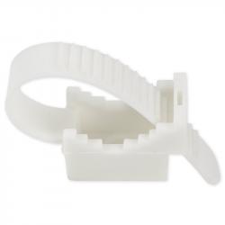Elektro-Plast Uchwyt szybkiego montażu paskowy UP-50 biały 10szt.