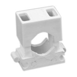 Elektro-Plast Uchwyt montażowy do przewodów dwuczęściowy UM-16 biały 50 szt.