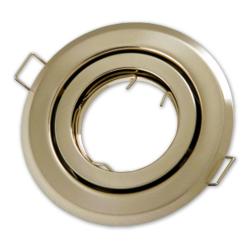 Oprawa oprawka halogenowa okrągła ruchoma stare złoto patyna