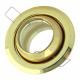 [OUTLET] KANLUX Oprawa halogenowa okrągła rybie oko ruchoma do MR11/Gx4 złoto CT-2118 ZZ101
