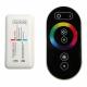 Sterownik ściemniacz do taśm LED RGB 216W 18A radiowy z pilotem dotykowym