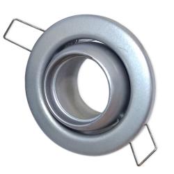 [OUTLET] KANLUX Oprawa halogenowa okrągła rybie oko ruchoma do MR11/Gx4 szara CT-2118R ZZ101