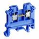 SIMET Złączka gwintowa szynowa 2-przewodowa 1-torowa 2,5mm² niebieska 11221313