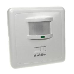 BOWI Czujnik ruchu sensor IR + dźwiękowy + automat zmierzchowy podtynkowy do puszki IP20 160° biały