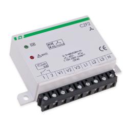 F&F Czujnik zaniku fazy z kontrolą styków stycznika tablicowy 1Z 10A CZF2