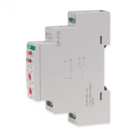F&F Przekaźnik kontroli napięcia nastawny 1P 16A 230V AC CP-710