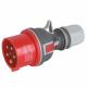 ELEKTROMET Wtyczka siłowa przenośna TWIST IP44 16A 5P 400V WPP-16A/5