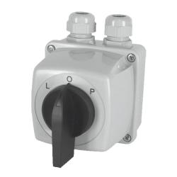 ELEKTROMET Łącznik krzywkowy lewy-prawy Łuk E16-43 (L-O-P)  IP44 951642