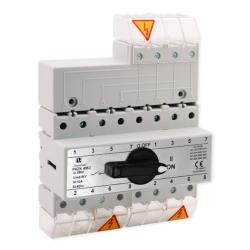 SPAMEL Przełącznik instalacyjny wyboru zasilania sieci 4P 63A PRZK-4063/W02