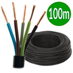 ElektroKabel Przewód przemysłowy linka H07RN-F OnPD 5x2,5mm² 750V guma czarny 100mb