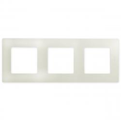 [OUTLET] Legrand NILOE Ramka potrójna kremowa 665013 ZZ104