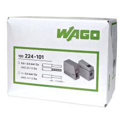 WAGO Szybkozłączka oświetleniowa 2,5mm² 224-101 opak. 100szt.