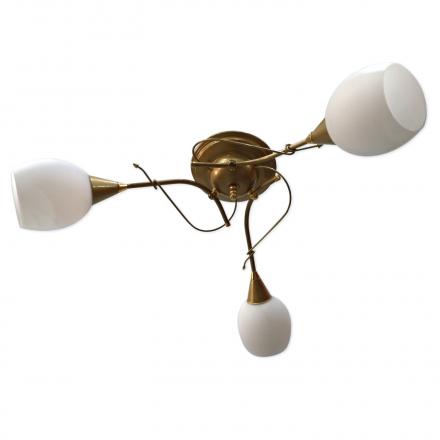 [OUTLET] POLBŁYSK Lampa wisząca 3x40W E14 Z-1/3/J złota CZ197