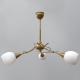 [OUTLET] POLBŁYSK Lampa wisząca 3x40W E14 Z-1/3 złota CZ185