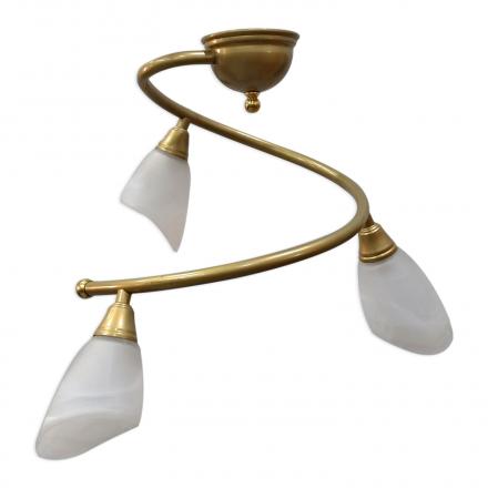 [OUTLET] POLBŁYSK Lampa wisząca 3x40W E14 Z-5/3/K złota CZ072