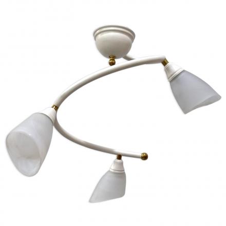 [OUTLET] POLBŁYSK Lampa wisząca 3x40W E14 Z-5/3/K biała CZ073