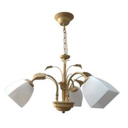 TOMEX Lampa wisząca 3x60W E27 beżowa TO253