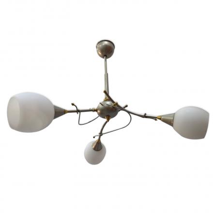 [OUTLET] POLBŁYSK Lampa wisząca 3x40W E14 Z-1/3 satyna CZ180