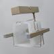 GLIMEX Lampa/kinkiet 1x60W E27 satyna BY150