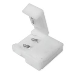 PLUS Złączka click 2 klipsy 10mm do taśm LED jednokolorowych 5050