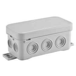 SIMET Puszka elektroinstalacyjna N8 odgałęźna natynkowa IP54 szara 83008002