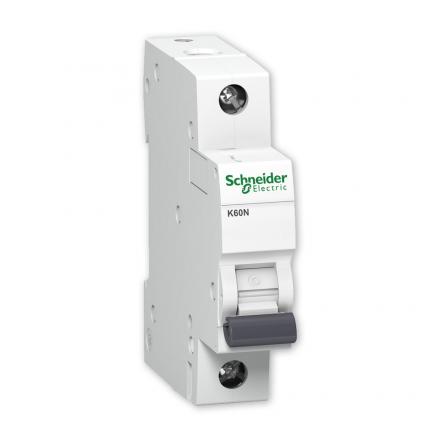 SCHNEIDER Wyłącznik nadprądowy 1P C 6A 6kA AC K60N A9K02106