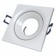 PROVERO CYGNUS Oprawa sufitowa p/t LED ALUMINIUM kwadratowa ruchoma biała ID-1012