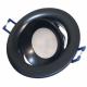 PROVERO CRATER Oprawa sufitowa p/t LED ALUMINIUM okrągła ruchoma czarna ID-1011