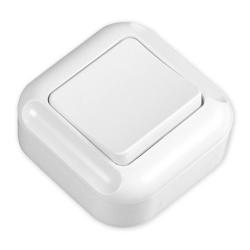 TIMEX TURKUS Przycisk dzwonek natynkowy biały WNT-7Tb