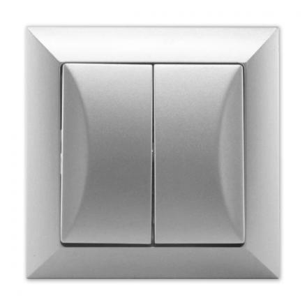 TIMEX OPAL Wyłącznik żaluzjowy bistabilny srebrny WP-10Z Op SR