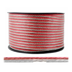 Elektro Przewód kabel głośnikowy TLYp CCA 2x1,0mm² 1mb