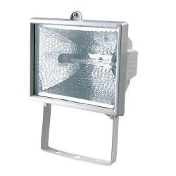 [OUTLET] ZEBRA Naświetlacz na żarówki halogenowe R7s IP44 150W HY-150 biały ZZ101