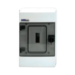 Elektro-Plast Rozdzielnica n/t 1x4 hermetyczna IP65 RH-4 (N+PE) NEO SERIES 36.04