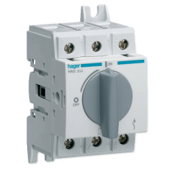 HAGER Rozłącznik izolacyjny mocy wyłącznik główny OBROTOWY O-I 40A 3P HAB304