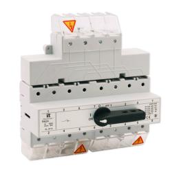 SPAMEL Przełącznik instalacyjny wyboru zasilania sieci 4P 125A PRZK-4125/W02