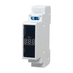 SPAMEL Wskaźnik napięcia modułowy 1F cyfrowy woltomierz 80-500V AC SPMV/1
