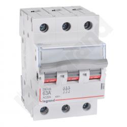 Legrand Rozłącznik izolacyjny FR303 63A 3P DX3 406467