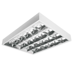 [OUTLET] BRILUX Oprawa rastrowa natynkowa do świetlówek T8 4x18W KO132
