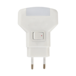 [OUTLET] ZEXT Mini lampka energooszczędna 1W 230V światło niebieskie