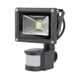 [OUTLET] MWLighting Naświetlacz LED z czujnikiem ruchu IP65 10W barwa ciepła ZZ101