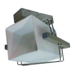 [OUTLET] GLIMEX Lampa/kinkiet 1x60W E27 satyna BY150-2