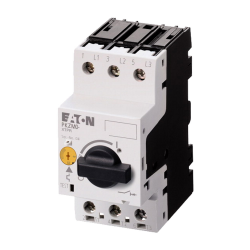 EATON Wyłącznik silnikowy 3P 2,2kW 4-6,3A PKZM0-6,3-EA 189902